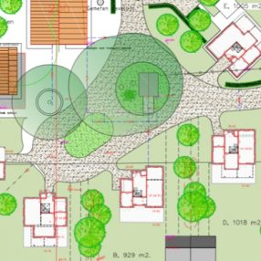 Plan Twekkelerhof landgoed 't Stroot in Twekkelo
