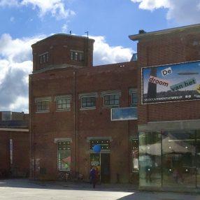 Pand Museumfabriek gezien vanaf de noordkant